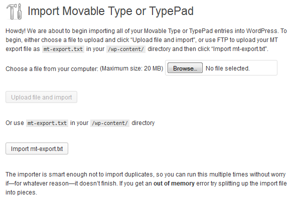Movable-Type-Import-Landing-Page